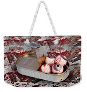 Tin Of Eyes Weekender Tote Bag