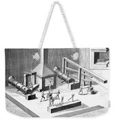 Tin Plate Manufacture Weekender Tote Bag