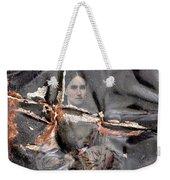 Tin Type Lifesaver Weekender Tote Bag