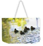 Tiny Baby Ducks Weekender Tote Bag