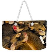 Tiny Bunnies Weekender Tote Bag