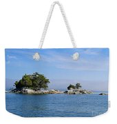 Tiny Island Off Vancouver Island Weekender Tote Bag