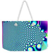 Tiny Rainbow Bubbles Fractal 98 Weekender Tote Bag