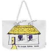 Tis Gingerbread House Weekender Tote Bag