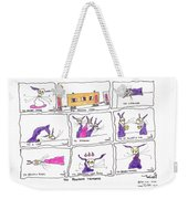 Tis Random Thoughts Weekender Tote Bag