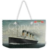 Titanic Memorial Stamp Weekender Tote Bag