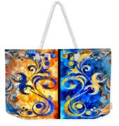 To Harness The Moon And The Sun Weekender Tote Bag