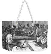 Tobacco: Twisting, 1879 Weekender Tote Bag