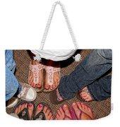 Toes In Weekender Tote Bag