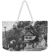 Toll Gate, 1879 Weekender Tote Bag