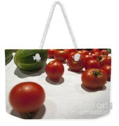 Tomato And Cucumber 2 Weekender Tote Bag