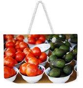 Tomato Y Avacado Weekender Tote Bag