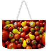 Tomatoes Background Weekender Tote Bag