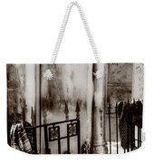 Tomb Famille Perrault Black And White Weekender Tote Bag