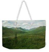 Tombstone Mountain Weekender Tote Bag by Priska Wettstein