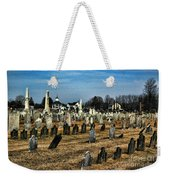 Tombstones Weekender Tote Bag by Paul Ward
