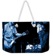 Tommy And Charlie Play Some Blues At Winterland In 1975 Weekender Tote Bag