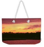 Tomoka River Sunset Weekender Tote Bag