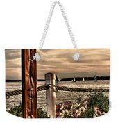 Top Of The Bay Weekender Tote Bag