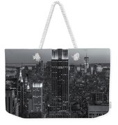Top Of The Rock Twilight Vi Weekender Tote Bag