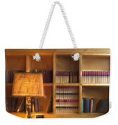 Top Pot's Library Weekender Tote Bag
