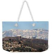 Topa Topa Snow Weekender Tote Bag