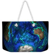 Topographical Map Of Coordinates 45 S Weekender Tote Bag by Science Source