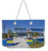 Topsail Island Patio Playground Weekender Tote Bag