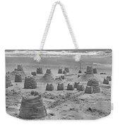 Topsail Island Sandcastle Weekender Tote Bag