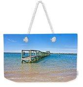 Topsail Island Sound Weekender Tote Bag