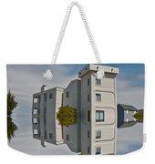 Topsail Island Tower Reflection Weekender Tote Bag