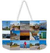 Topsail Visual Contemporary Quilt Series II Weekender Tote Bag