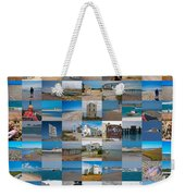 Topsail Visual Contemporary Quilt Series IIi Weekender Tote Bag