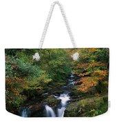Torc Waterfall, Ireland,co Kerry Weekender Tote Bag