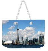 Toronto Skyline 10 Weekender Tote Bag