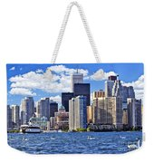 Toronto Waterfront Weekender Tote Bag