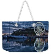 Torquay Marina And The Big Wheel Weekender Tote Bag