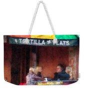 Tortilla Flats Greenwich Village Weekender Tote Bag
