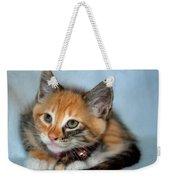 Tortoiseshell Kitten Weekender Tote Bag