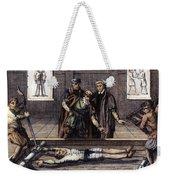 Torture, 16th Century Weekender Tote Bag