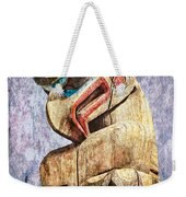 Totem Pole In The Pacific Northwest Weekender Tote Bag