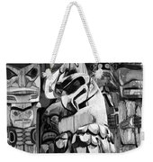 Totem Poles On Vancouver Island Weekender Tote Bag