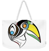 Toucan And Company On White Weekender Tote Bag