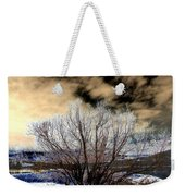 Touch Of Frost Weekender Tote Bag