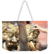 Touch Of Good Fortune Weekender Tote Bag by Carol Groenen