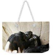 Touching Moment Gorillas Kissing Weekender Tote Bag