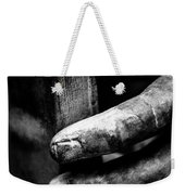 Touching The Book Weekender Tote Bag