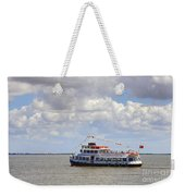 Touring Boat Weekender Tote Bag