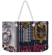 Tourists At Changing Of The Guards Weekender Tote Bag