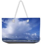 Tourists On The Beach, Inch Beach Weekender Tote Bag